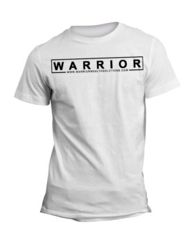 Warrior Mens White T-Shirt