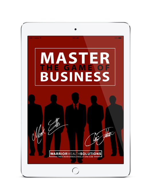 Warrior Wealth Solutions - Master the Game of Business Ipad Product Picture