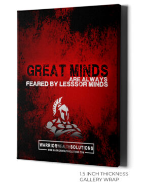 Great Minds by Warrior Wealth - Canvas Art